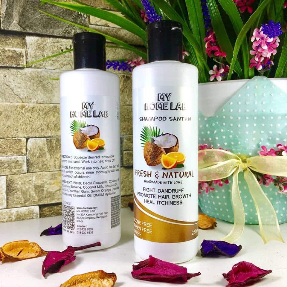 shampoo santan murah