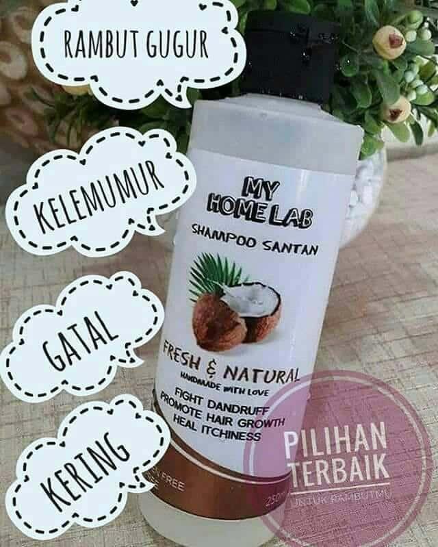 shampoo santan kkm