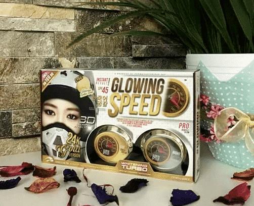 glowing speed skincare