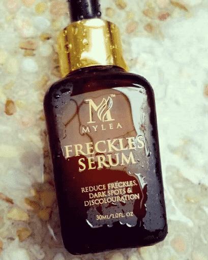 cara pakai mylea freckles serum