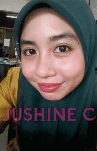 jushine c by nlee beauty berkesan