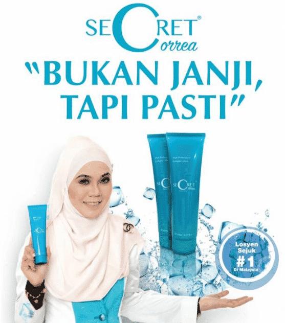 secret correa murah