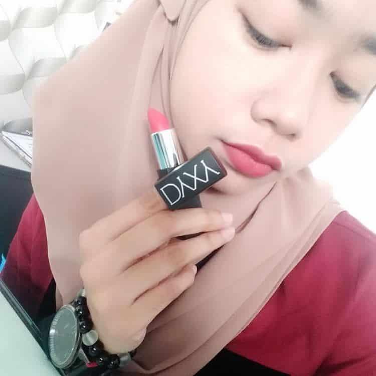 lipstick matte dyxy kesan