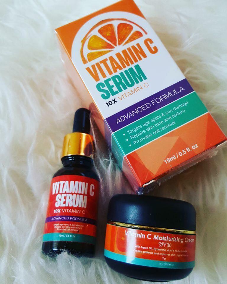 vitamin c serum annona moisturising cream