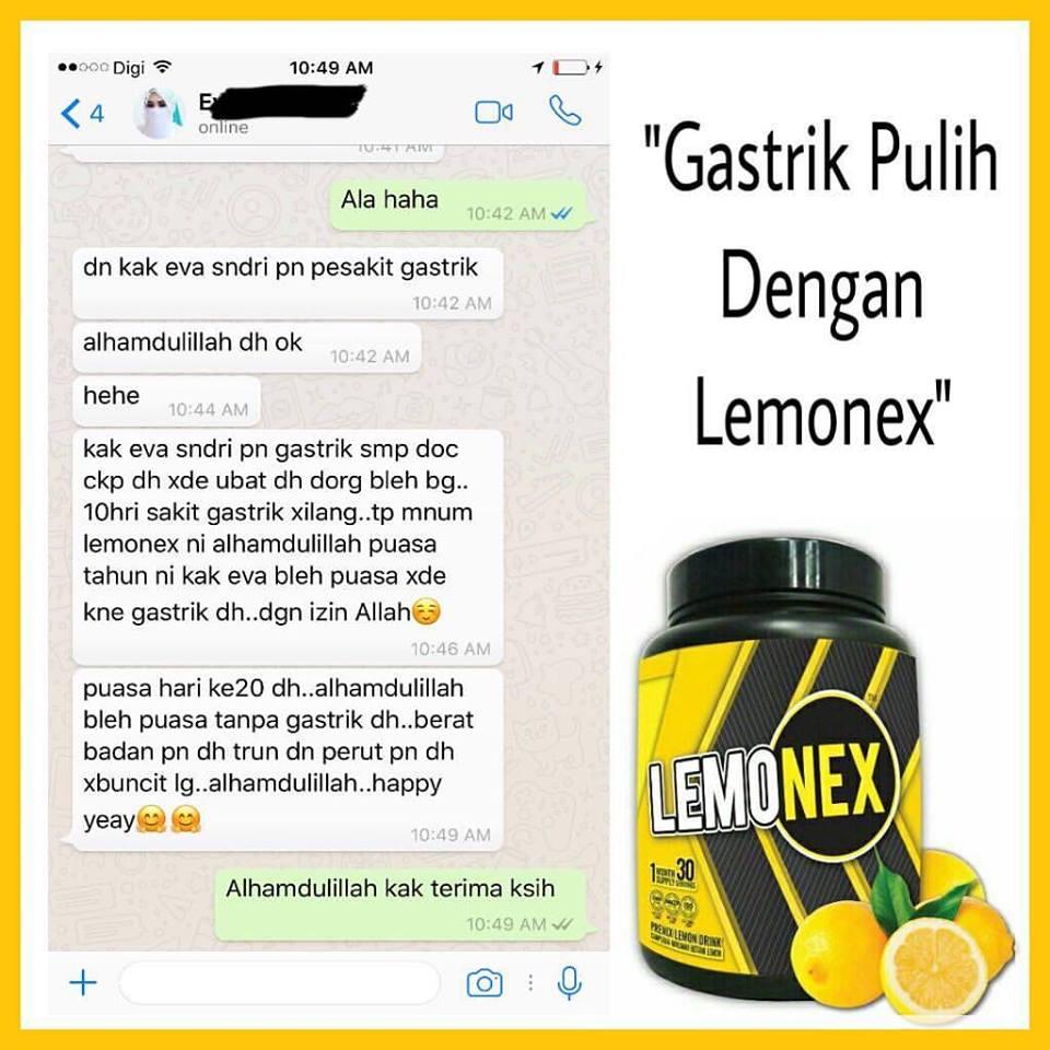 feedback lemonex gastrik