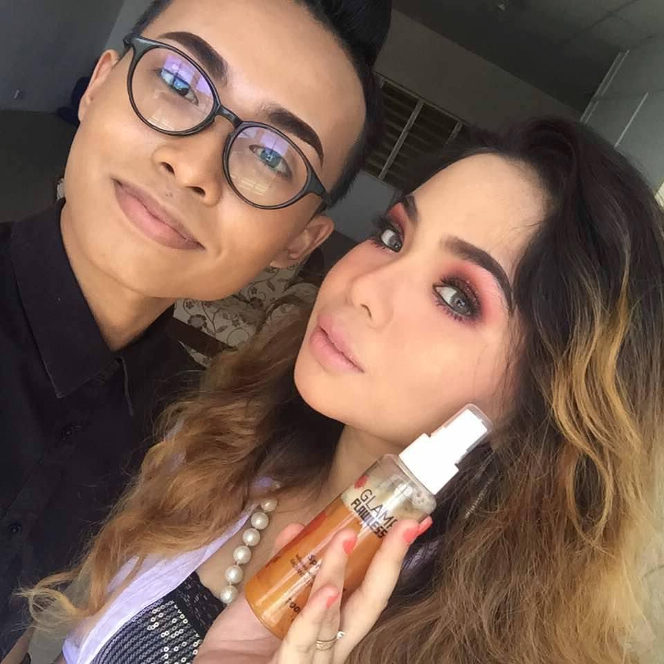 glamrose spray lelaki