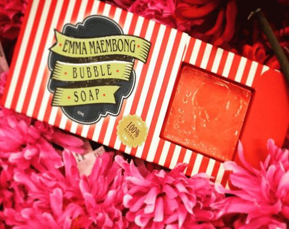 emma maembong bubble soap