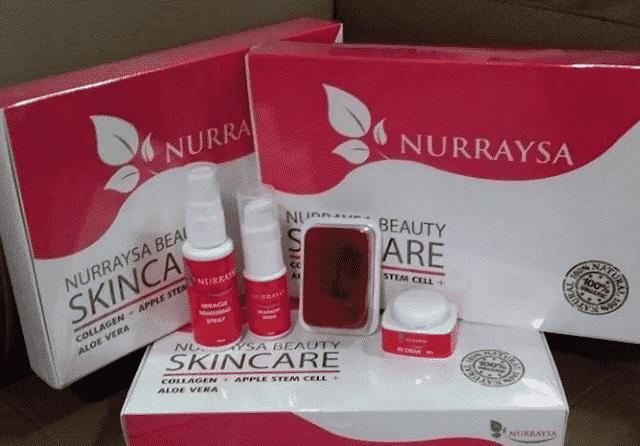 nurraysa beauty skincare selamat