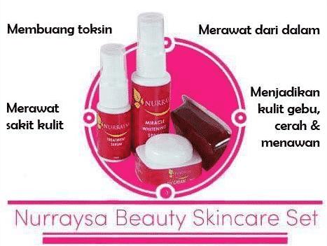 nurraysa beauty skincare murah