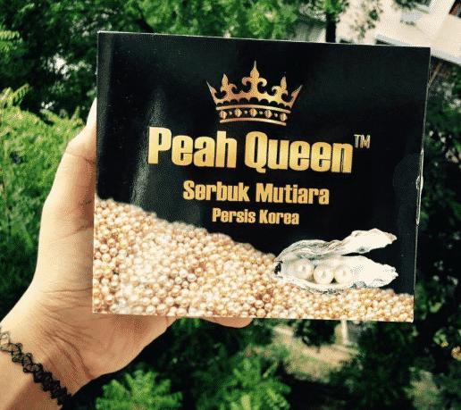 cara makan peah queen serbuk mutiara