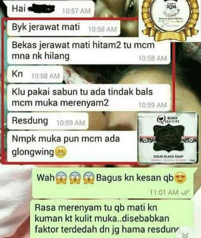 qm queen black soap halal
