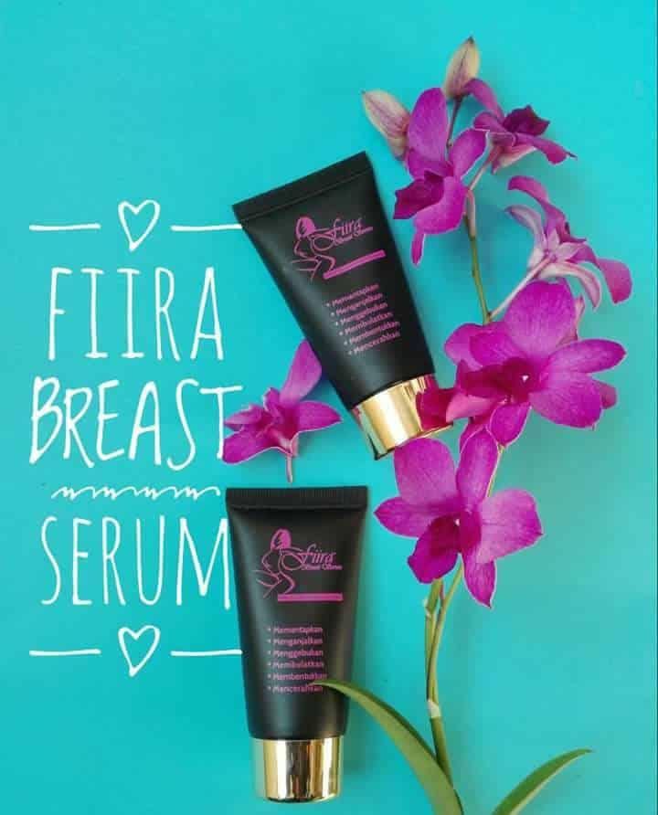 cara pakai fiira breast serum