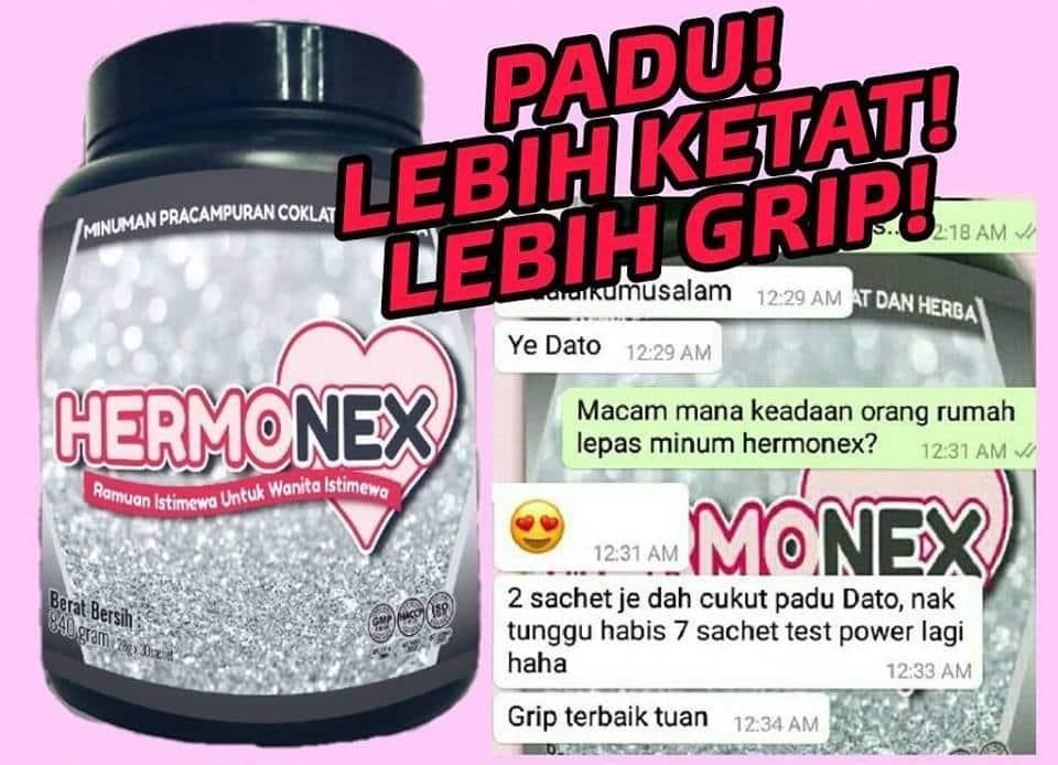 hermonex berkesan