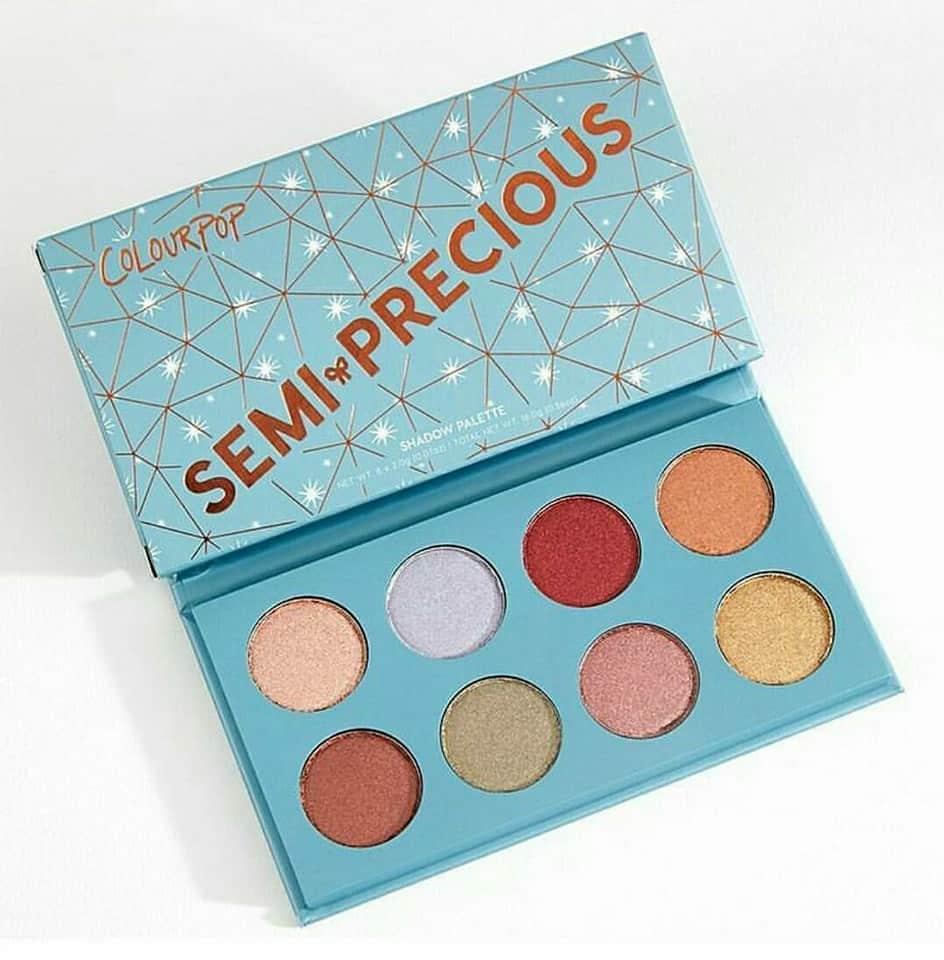 colourpop semi precious palette