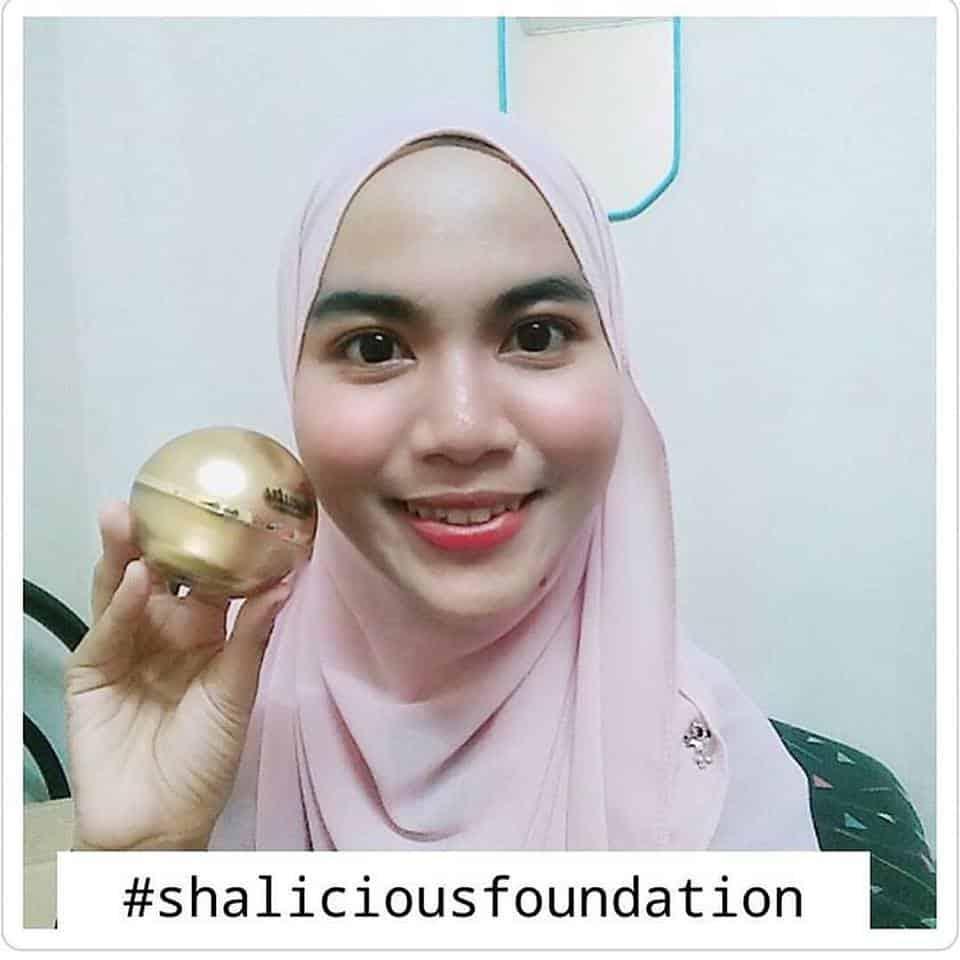 testimoni shalicious foundation
