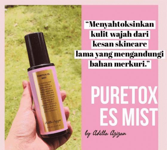 cara guna puretox es mist