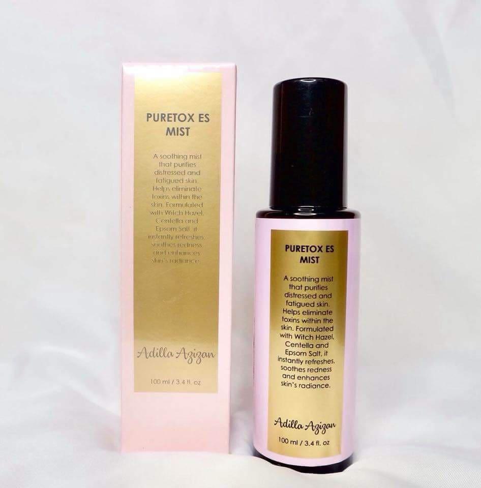puretox es mist berkesan