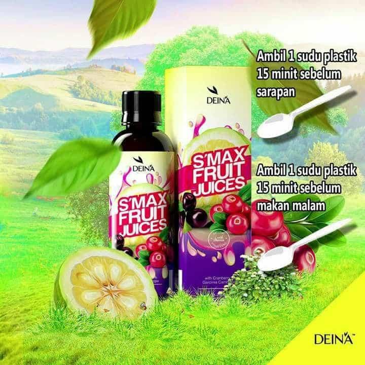 cara makan deina slimax fruit juice