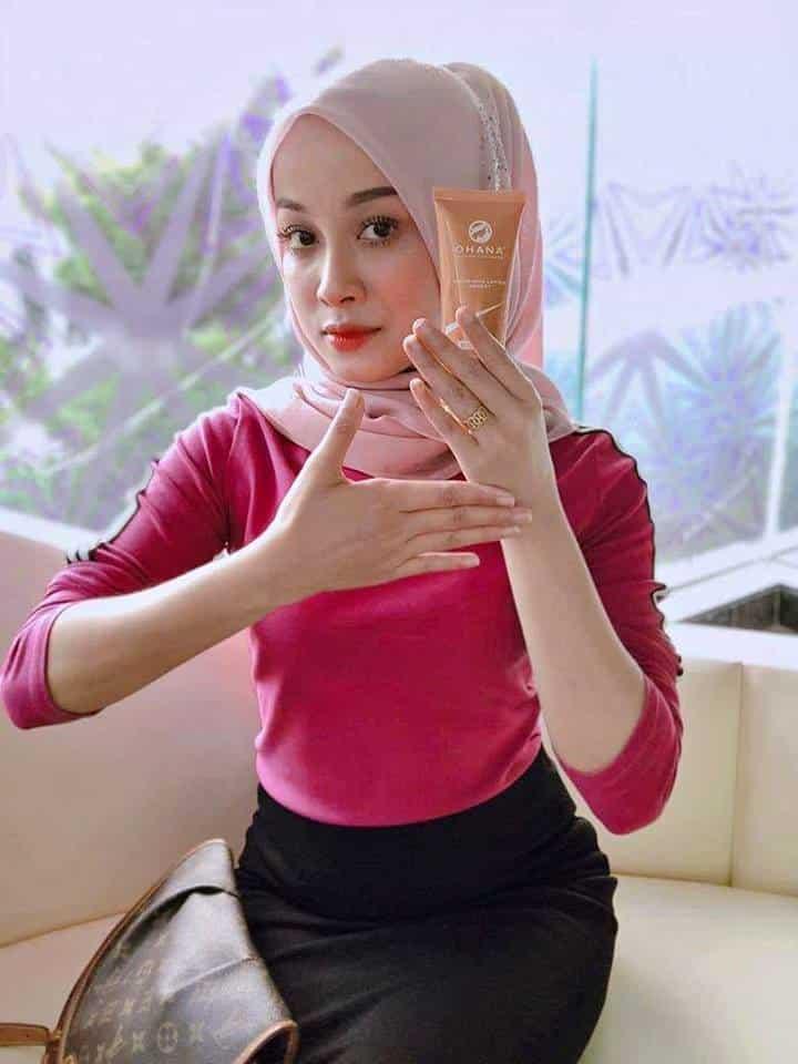 ohana whitening lotion agent