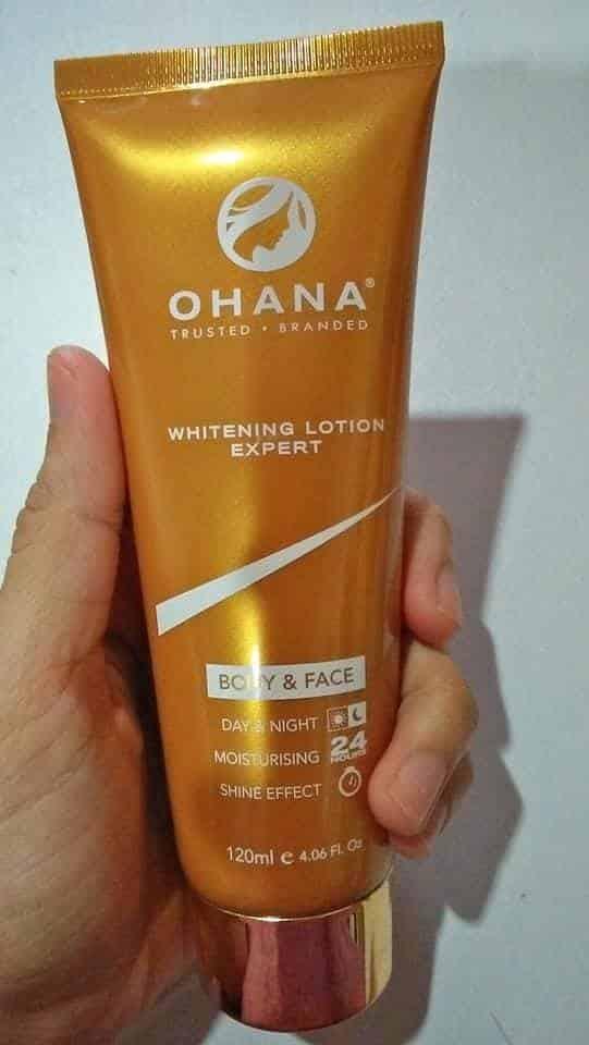 ohana whitening lotion expert