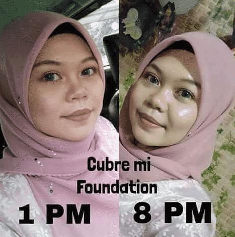 cubremi foundation tahan lama
