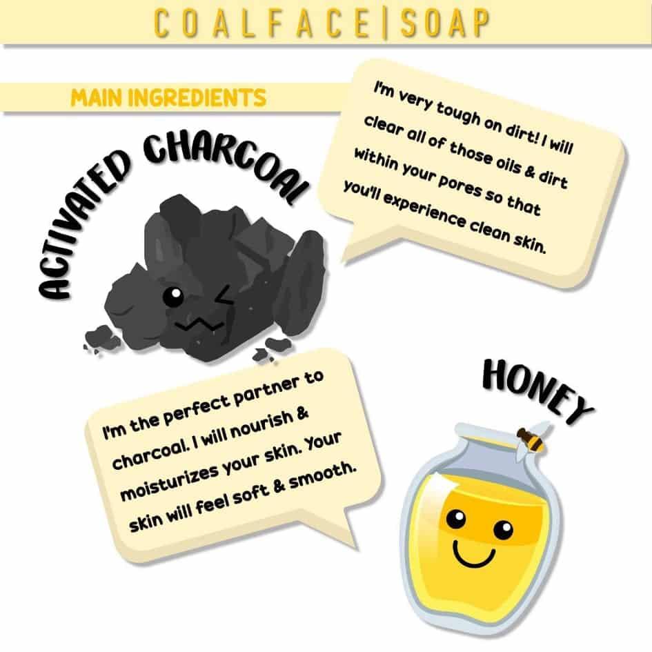 bahan utama coalface