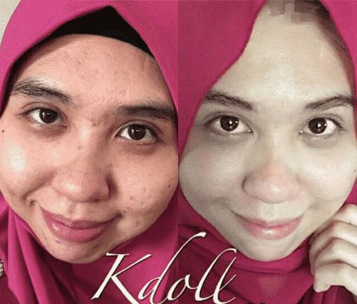 k doll beauty skin halal