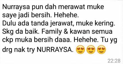 nurraysa beauty skincare jerawat