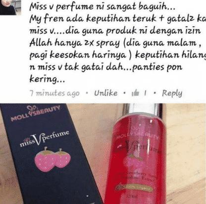 miss v perfume molly hq