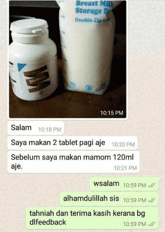mamom milk booster price