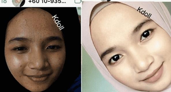 k doll beauty skincare